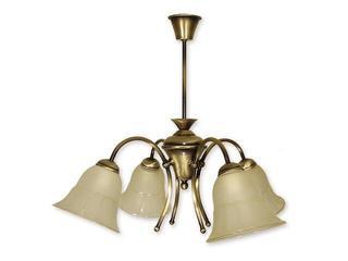 Lampa wisząca Bora 4-płomienna patyna 804/W4 PAT Lemir