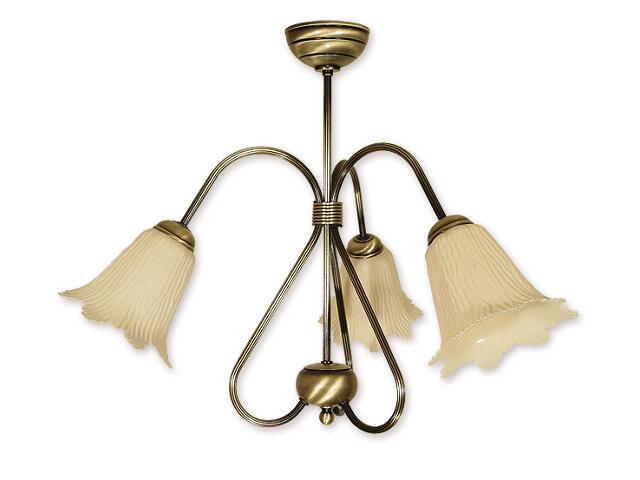 Lampa wisząca Skala 3-płomienna patyna 813/W3 Lemir