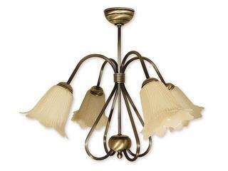 Lampa wisząca Skala 4-płomienna patyna 814/W4 Lemir