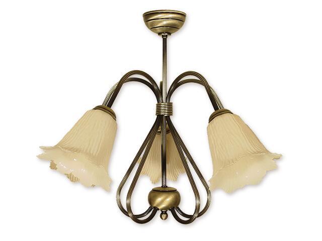 Lampa wisząca Skala 5-płomienna patyna 815/W5 Lemir