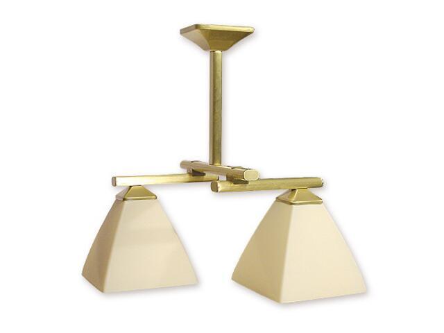 Lampa wisząca Kwant listwa 2-płomienna patyna 892/W2 Lemir
