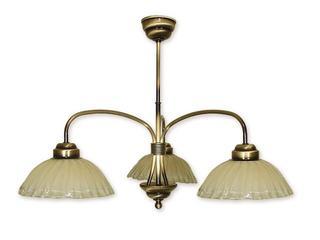 Lampa wisząca Alba 3-płomienna patyna 963/W3 Lemir