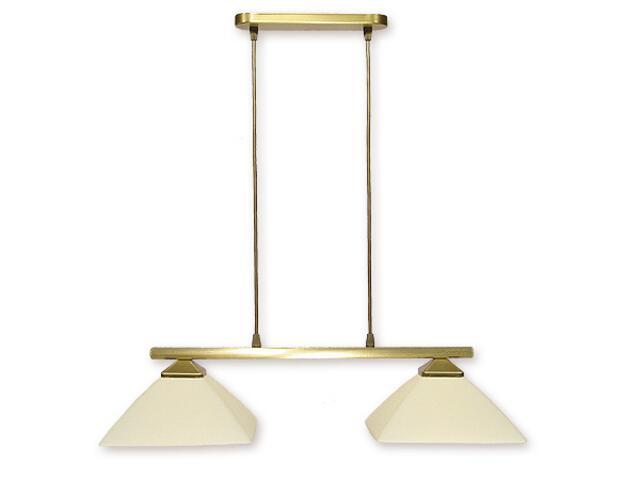 Lampa wisząca Krzyżak 2-płomienna patyna 972LP/W2 Lemir