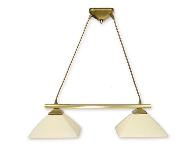 Lampa wisząca Krzyżak 2-płomienna patyna 972LS/W2 Lemir