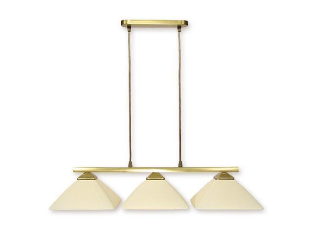 Lampa wisząca Krzyżak 3-płomienna patyna 973LP/W3 Lemir