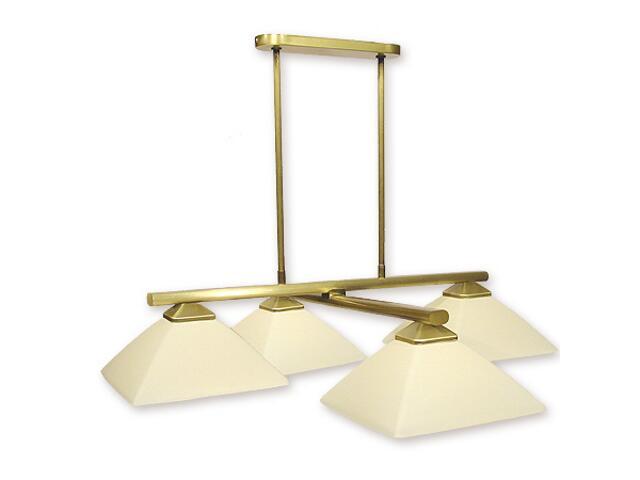 Lampa wisząca Krzyżak 4-płomienna patyna 974K/W4 Lemir