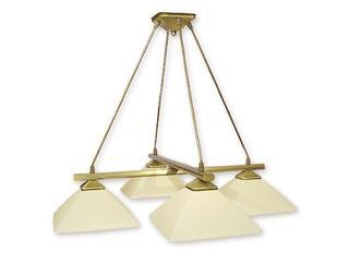 Lampa wisząca Krzyżak 4-płomienna patyna 974LS/W4 Lemir