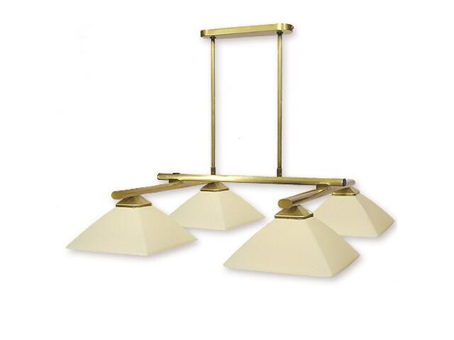 Lampa wisząca Krzyżak 4-płomienna patyna 974P/W4 Lemir