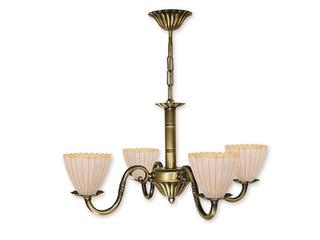 Lampa wisząca Prima Plus 4-płomienna patyna O1014/W4 Lemir