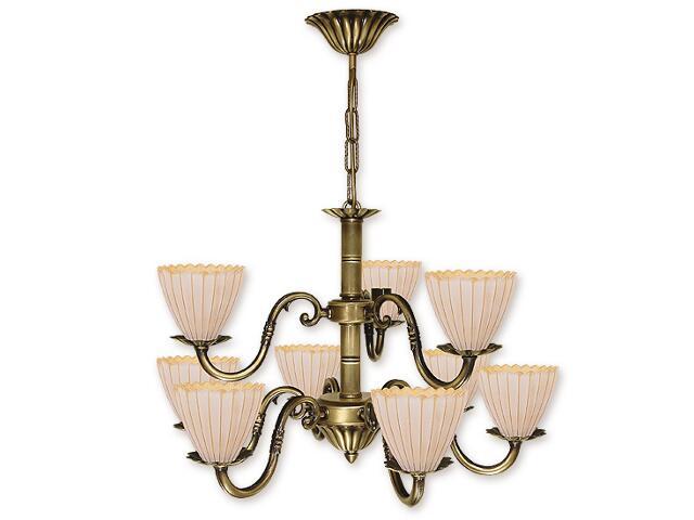 Lampa wisząca Prima Plus 9-płomienna patyna O1017/W9 Lemir