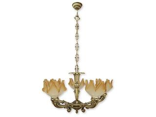 Lampa wisząca Pegaz 5-płomienna patyna 675/W5 Lemir