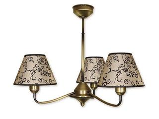 Lampa wisząca Aluna 3-płomienna patyna 853/W3 Lemir