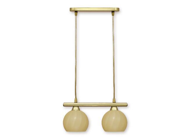 Lampa sufitowa Gama listwa 2-płomienna złota 932/W2 Lemir
