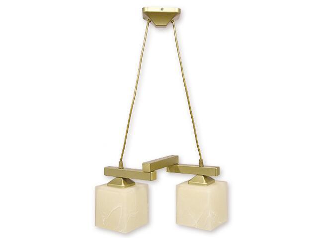 Lampa wisząca Epsilon listwa 2-płomienna złota O1072LZ/W2 ZŁ Lemir