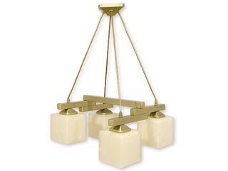 Lampa wisząca Epsilon listwa 4-płomienna złota O1074LH/W4 ZŁ Lemir
