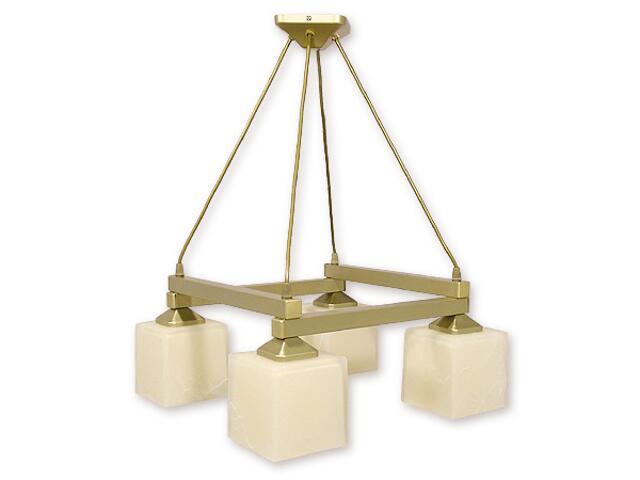 Lampa wisząca Epsilon listwa 4-płomienna złota O1074LK/W4 ZŁ Lemir