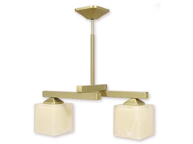 Lampa wisząca Kleo listwa 2-płomienna złota O1082RH/W2 ZŁ Lemir