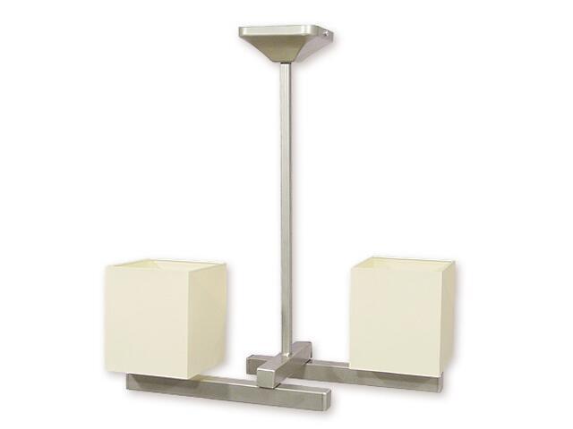 Lampa sufitowa Rewa listwa 2-płomienna satyna O1092AH/W2 SAT Lemir