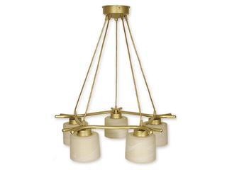 Lampa wisząca Kwazar listwa 5-płomienna złota O1105/W5 ZŁ Lemir