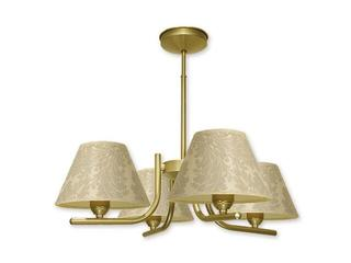 Lampa wisząca Rewers 4-płomienna złota O1124/W4 ZŁ Lemir