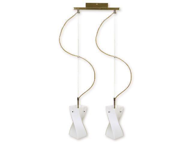 Lampa wisząca Iwo listwa 2-płomienna oliwka O1172/W2 OL Lemir