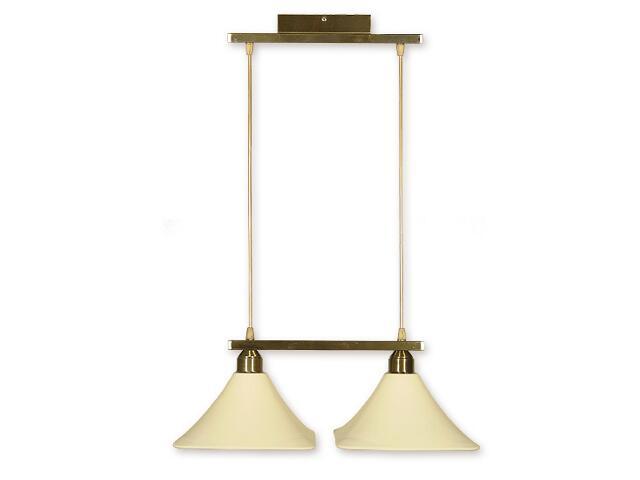 Lampa wisząca Lino listwa 2-płomienna oliwka O1162/W2 OL Lemir