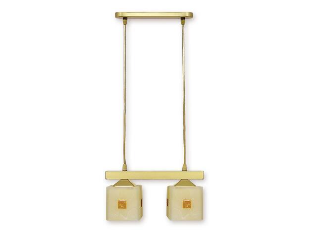 Lampa wisząca Morfeusz listwa 2-płomienna złota O1182/W2 ZŁ Lemir