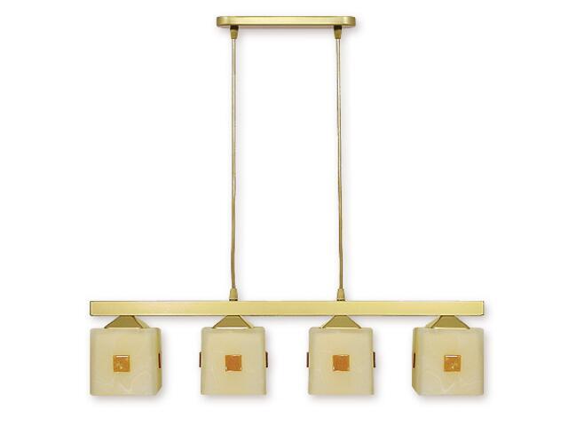 Lampa wisząca Morfeusz listwa 4-płomienna złota O1184/W4 ZŁ Lemir