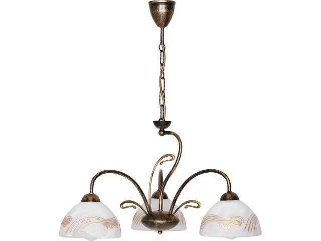 Lampa wisząca Ida żyrandol 3xE27 00202 Sigma