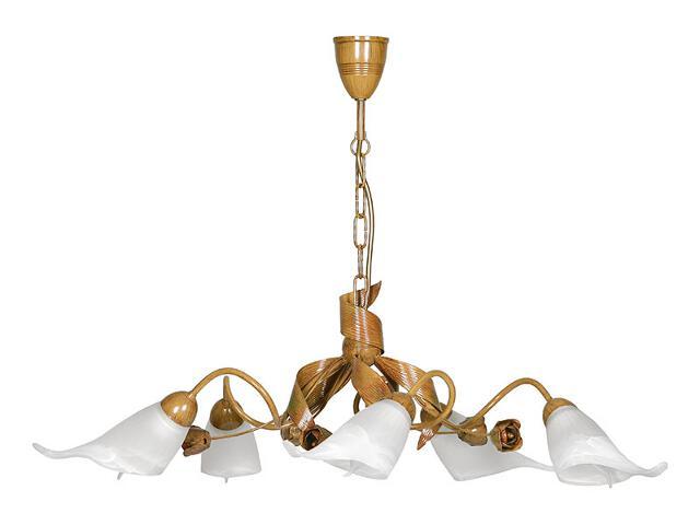 Lampa wisząca Bianka żyrandol 5xE14 00101 Sigma