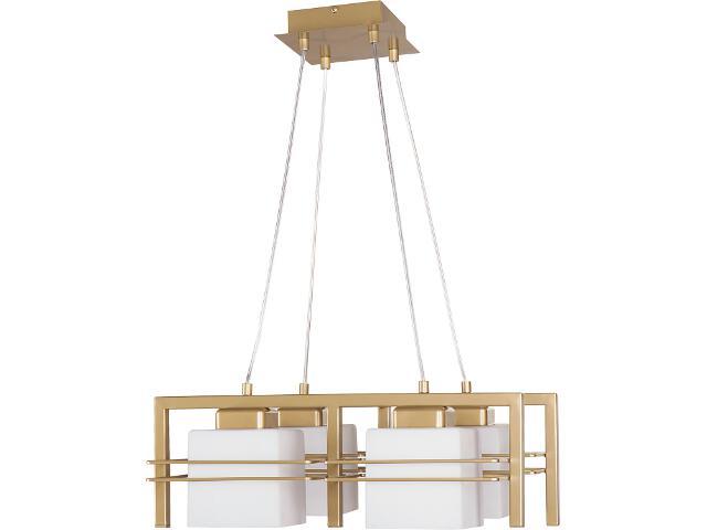 Lampa wisząca Aldo złota 4xE27 07702 Sigma