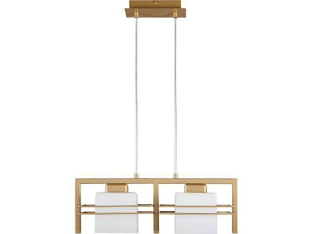 Lampa wisząca Aldo złota 2xE27 07706 Sigma