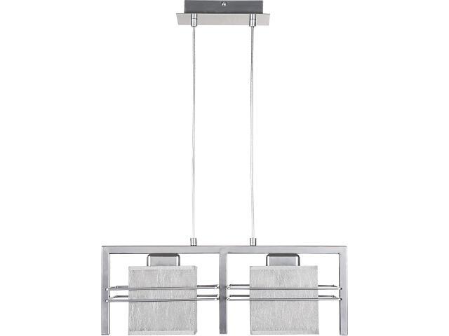 Lampa wisząca Aldo Trend srebrna 2xE14 07805 Sigma