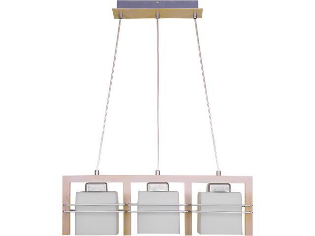 Lampa wisząca Bruno dąb bielony 3xE27 06903 Sigma