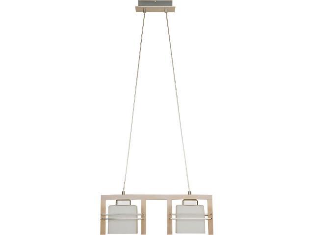 Lampa wisząca Bruno dąb bielony 2xE27 06905 Sigma