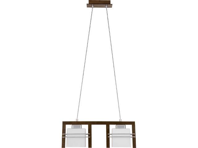 Lampa wisząca Bruno wenge 2xE27 06906 Sigma