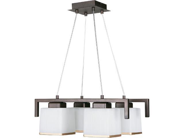 Lampa wisząca Forte brązowa 4xE27 07902 Sigma