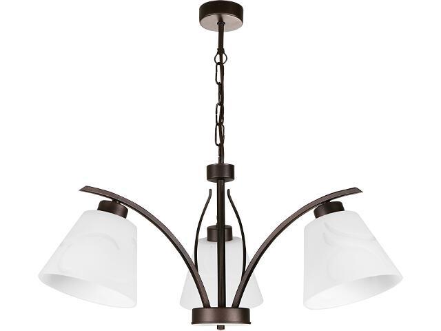 Lampa wisząca Lido 3xE27 07602 Sigma