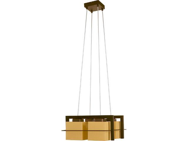 Lampa wisząca Toffi jasna 4xE14 09001 Sigma