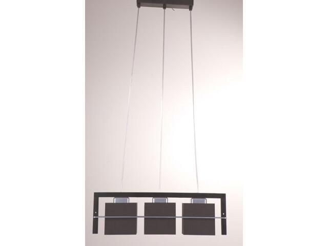 Lampa wisząca Toffi ciemna 3xE14 09004 Sigma