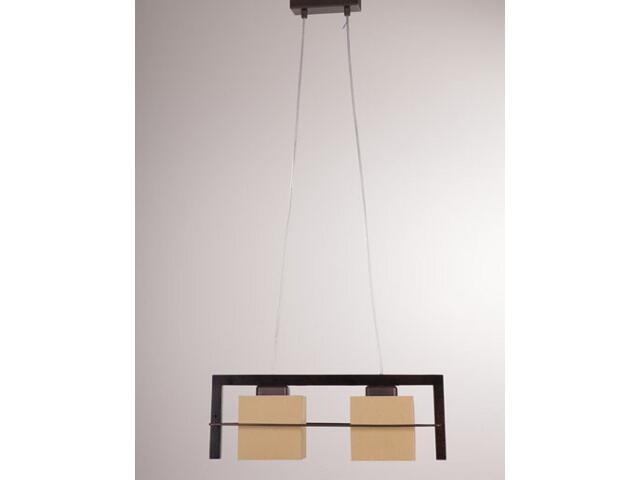 Lampa wisząca Toffi jasna 2xE14 09005 Sigma