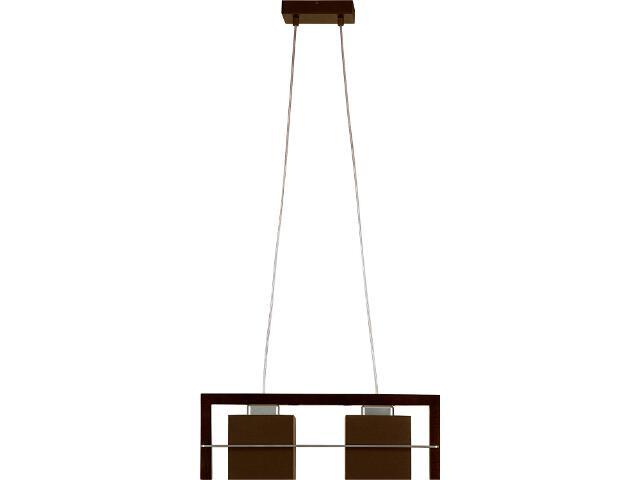 Lampa wisząca Toffi ciemna 2xE14 09006 Sigma