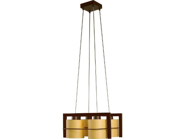 Lampa wisząca Toffi Due jasna 4xE14 09101 Sigma