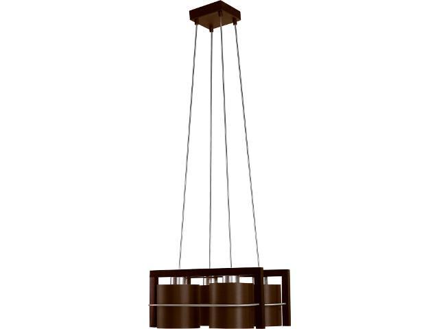 Lampa wisząca Toffi Due ciemna 4xE14 09102 Sigma