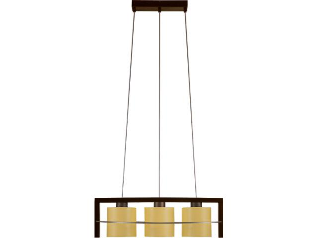 Lampa wisząca Toffi Due jasna 3xE14 09103 Sigma