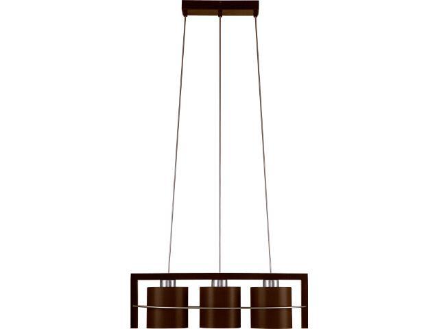 Lampa wisząca Toffi Due ciemna 3xE14 09104 Sigma
