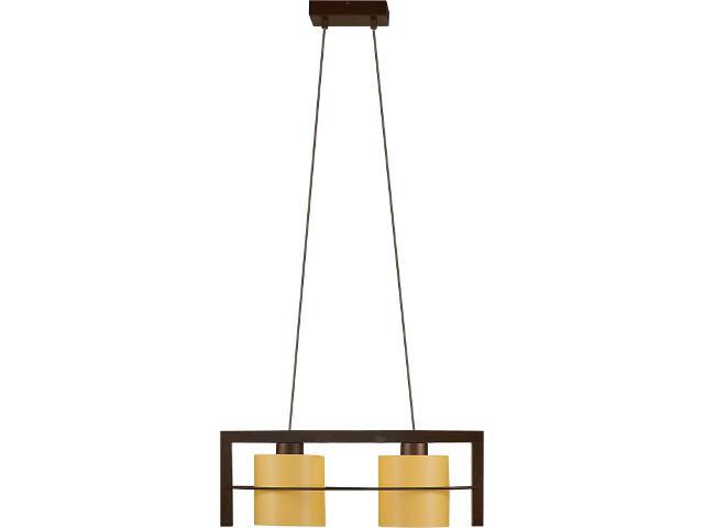 Lampa wisząca Toffi Due jasna 2xE14 09105 Sigma