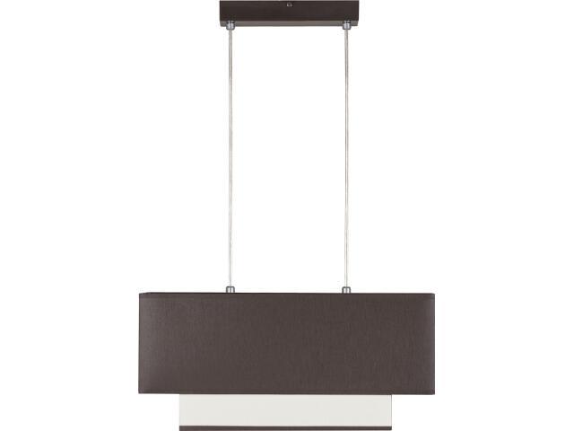Lampa wisząca Koka wenge 2xE27 10003 Sigma