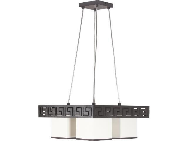 Lampa wisząca Olimp wenge 4xE27 10101 Sigma