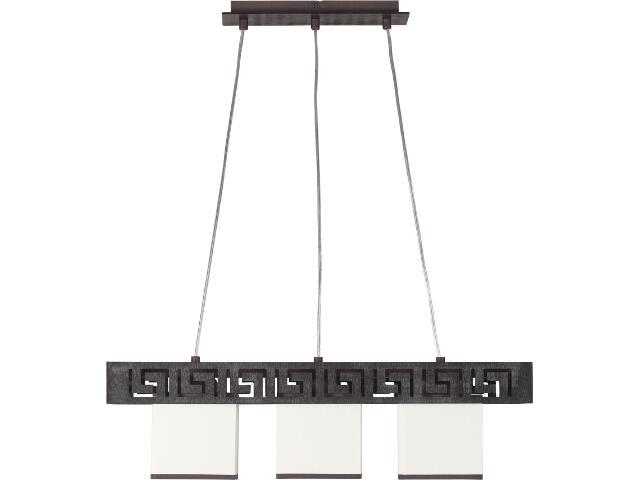 Lampa wisząca Olimp wenge 3xE27 10102 Sigma